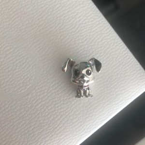 NEW STERLING SILVER S925 Dog Charm